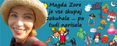 Magda Zore je vse skupaj zakuhala
